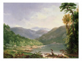 Kentucky River, Near Dic River Giclee Print by Thomas Worthington Whittredge