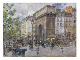 The Porte Saint-Martin, 1898 Giclee Print by Frederic Anatole Houbron