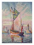 The Port at Concarneau Giclée-trykk av Paul Signac