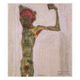 Anarchist, C.1909-10 Giclee Print by Egon Schiele