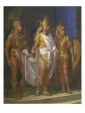 Emperor Montezuma Ii Giclee Print by Juan Ortega