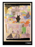 Under a Black Star, 1918 Giclee Print by Paul Klee