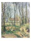 The Path of the Wretched, 1878 Giclee Print by Camille Pissarro