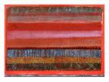 Flat Landscape, 1924 Gicléetryck av Paul Klee