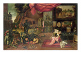 An Allegory of Touch Giclee Print by Frans III Francken