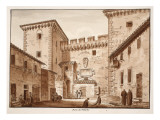The Vatican Gate, 1833 Giclee Print by Agostino Tofanelli