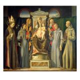 Madonna Enthroned, 1480 Giclée-Druck von Alvise Vivarini