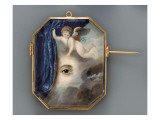 Eye Portrait with Putto, C.1820 Giclee Print by European School