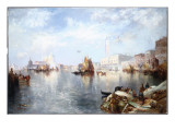 Venetian Grand Canal, 1889 Giclee Print by  Moran