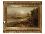 Mountain Landscape Giclee Print by Frederic Edwin Church