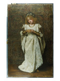 The Child Bride, 1883 Reproduction proc&#233;d&#233; gicl&#233;e par John Collier