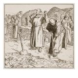 Monastic Husbandry Giclee Print by F.h. Townsend