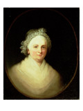 Portrait of Martha Washington Premium Giclee Print by Jane Stuart