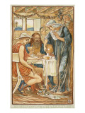The Strangers Entertained Giclee Print by Walter Crane