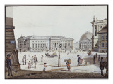 The Opernplatz, Berlin Giclee Print by F.A. Calau