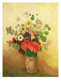 Vase of Flowers, C.1908-10 Premium Giclee Print by Odilon Redon