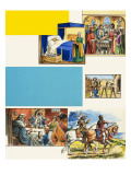 The Age of Chivalry Giclee Print by  Escott