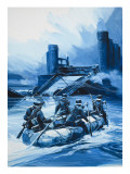 German Invasion of Holland Giclee Print by Gerry Wood