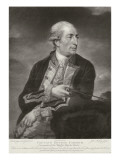 Portrait of George Farmer Giclee Print by Charles Grignion