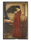 The Crystal Ball, 1902 Reproduction procédé giclée par John William Waterhouse