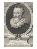 Francois De Malherbe Giclee Print by Daniel Dumonstier