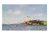 Fresh Wind on the Volga, 1895 Giclee Print by Isaak Ilyich Levitan