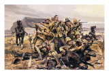 All That Was Left of Them Giclee Print by Richard Caton Woodville