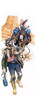 Californian Gold Prospector Giclee Print by Ron Embleton