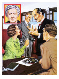 Murder on the Orient Express Premium Giclee Print by John Keay