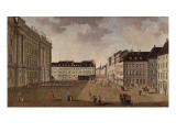 Berlin City Palace, 1765 Giclee Print by Carl Traugott Fechhelm