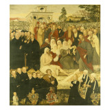 Reformers' Group at a Miracle Giclee Print by Lucas Cranach the Younger
