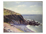 Lady's Cove, Langland Bay, 1897 Giclee Print by Alfred Sisley