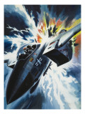 Danger from the Skies Giclee Print by Wilf Hardy