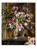 Vase of Flowers, 1871 Giclée-tryk af Pierre-Auguste Renoir