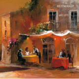 Dinner for Two IV Arte por Willem Haenraets