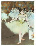 On Stage, 1879-81 Giclee Print by Edgar Degas