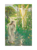 The Annunciation Giclee Print by Dante Gabriel Rossetti