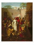 The Slave Market Giclee Print by Karl Wilhelm Gentz