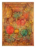 Spiral Flowers, 1926 Gicl&#233;e-Druck von Paul Klee