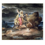 The Giaour, C.1822-23 Giclee Print by Theodore Gericault