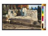 An Exedra, 1871 Giclee Print by Sir Lawrence Alma-Tadema