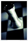 Black and White Chess I Art by Jean-François Dupuis