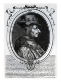 Louis Xi Giclee Print by Nicolas de Larmessin