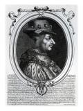 Louis Xi Giclee Print by Nicolas de Larmessin