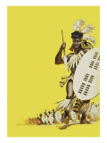 Zulu Warriors Giclee Print by Mcbride