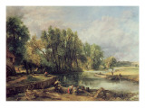 Stratford Mill Giclee Print by John Constable