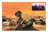 Rommel in North Africa Giclee Print by Graham Coton
