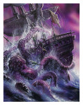 Terror from the Deep Giclee Print by Oliver Frey