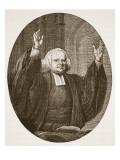 George Whitefield Giclee Print by  English School