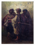 Bulgarian Soldiers Giclee Print by T. Valerio
